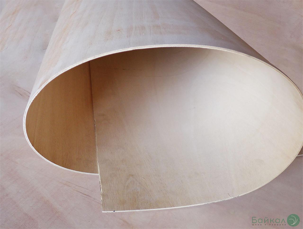Фанера сейба гнучка 8 мм - 2,44х1,22 м (Поздовжня / Long)
