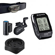 Велокомп'ютер бездротовий Sigma Sport ROX 11.0 GPS BLACK SET, фото 2