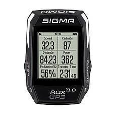 Велокомп'ютер бездротовий Sigma Sport ROX 11.0 GPS BLACK SET, фото 3