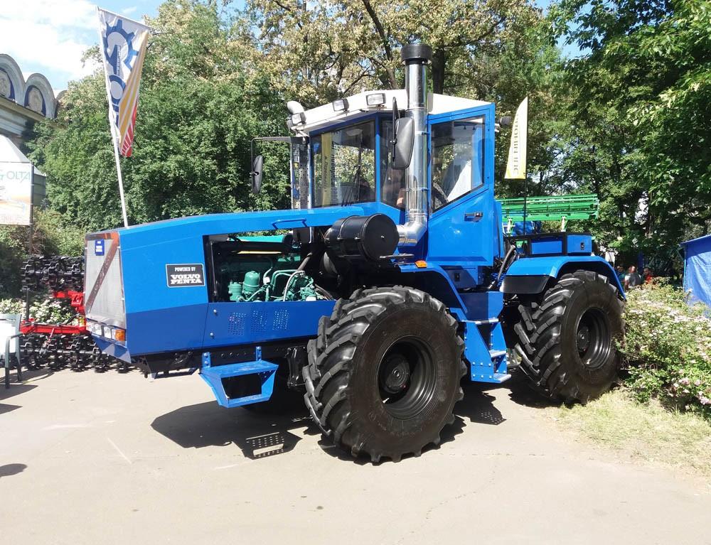 Переоборудование тракторов ХТЗ Т-150, К-700, John Deere, Case, на двигатель Volvo