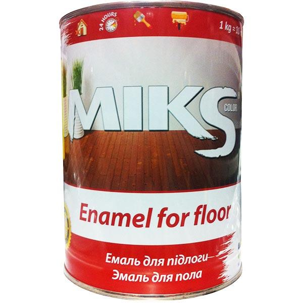 Эмаль Микс Колор для пола желто-коричневая 0.9 кг