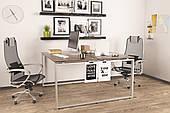 Двойной стол Q-140 Loftdesign офисный