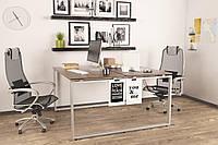 Двойной стол Q-140 Loftdesign офисный письменный, фото 1
