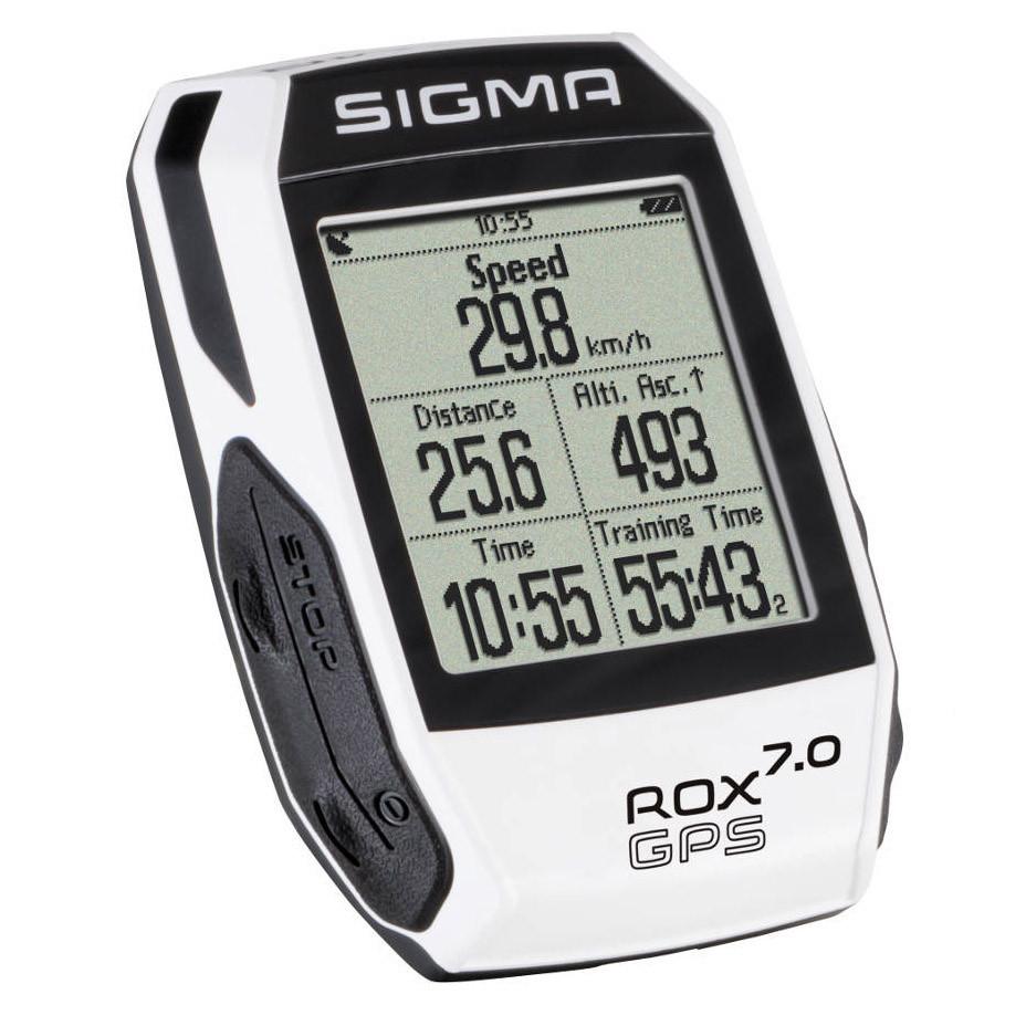 Велокомп'ютер бездротовий Sigma Sport ROX 7.0 GPS White