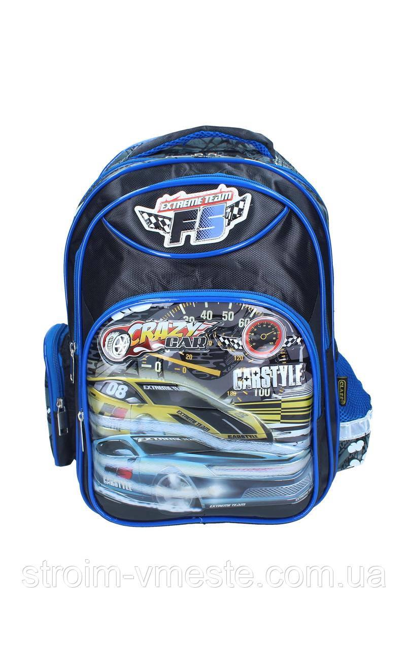 Ранец-рюкзак 2отделения 38*28*19см CLASS 9741