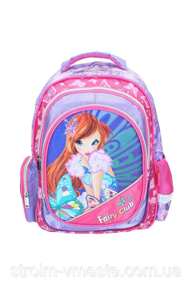 Ранець-рюкзак 2отделения 38*28*18см CLASS 9738
