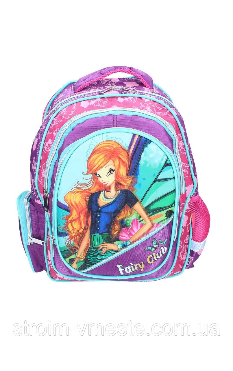 Ранец-рюкзак 2отделения 38*28*18см CLASS 9736