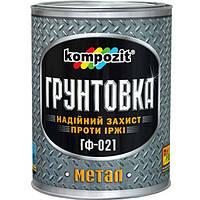 Грунтовка Kompozit Express красно-коричневая 0.9 кг