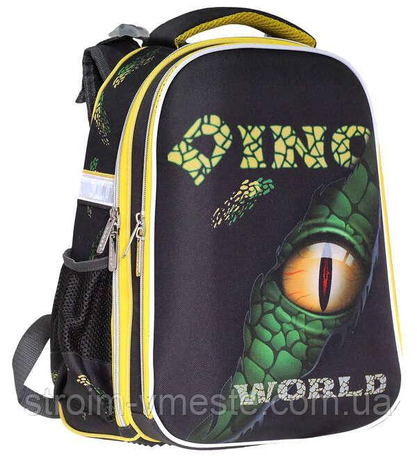 Ранець SchoolCase «Dino World»,2 отделения.,39*28*21см, PL, CLASS, арт. 9912