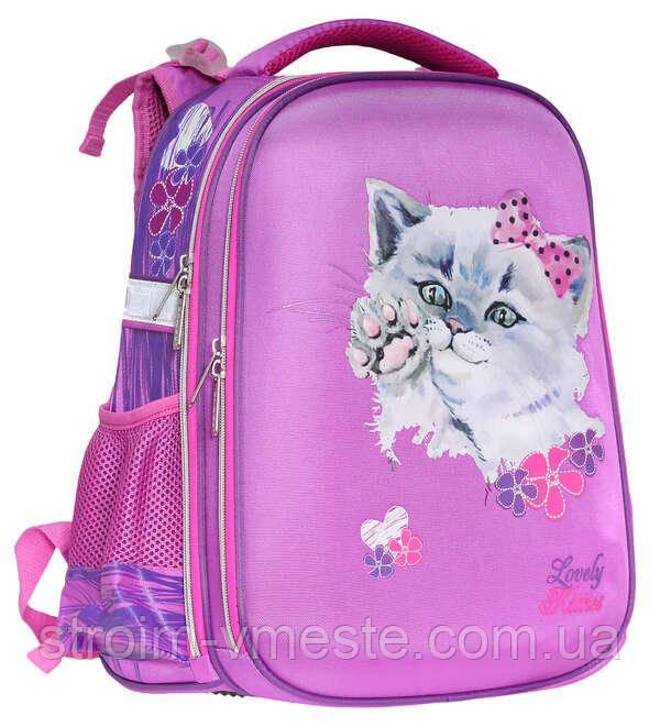 Ранец  SchoolCase «Fancy Kitten»,2 отделения.,39*28*21см, PL, CLASS, арт. 9905