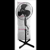 Підлоговий вентилятор EUROMAX EU-809 40 Вт регулювання по висоті чорний колір