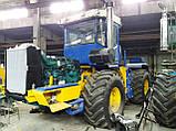 Переоборудование тракторов ХТЗ Т-150, К-700, John Deere, Case, на двигатель Volvo, фото 4