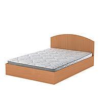Кровать 140 Компанит (полуторная в цвете ольха)