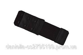 Удлинитель для бюста длинный (с резинкой) Черный, фото 2