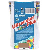 Затирка Mapei Ultracolor Plus 142 коричневая 5 кг