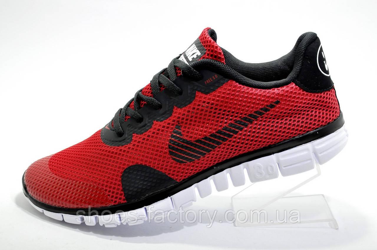 Мужские кроссовки стиле Nike Free Run 3.0 V2, 2019 Red\Красные