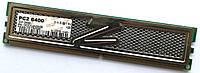 Игровая оперативная память OCZ Gold DDR2 1Gb 800MHz PC2 6400U 1R8/2R8 CL5 (OCZ2G8002GK)Б/У, фото 1
