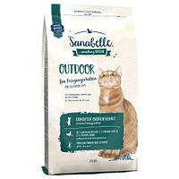 Сухой корм  Bosch Sanabelle Outdoor Бош Санабель Оутдор с уткой  гипоаллергенный без глютеина для котов 10 кг