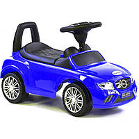 Машина-толокар Joy R-0033 с багажником, синий