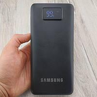 Повербанк Samsung 45000 mah с LED экраном черный повер банк внешний аккумулятор Самсунг