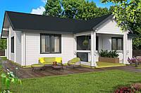 Дом деревянный из профилированного бруса 10.2х7.2. Скидка на домокомплекты на 2020 год