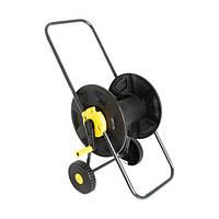 Катушка для шланга Expert Garden на колесах черная