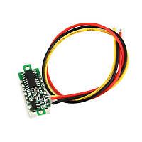 VD28 0-100V DC вольтметр 0,28'' красный, фото 1