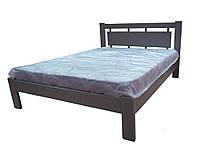 """Кровать деревянная TM """"YASON"""" Hong Kong LUXE Венге (Массив Ольхи либо Ясеня), фото 1"""