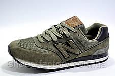 Мужские кроссовки в стиле New Balance 574 Classic, Olive, фото 2