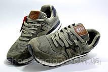 Мужские кроссовки в стиле New Balance 574 Classic, Olive, фото 3