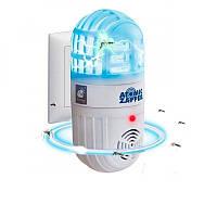 Мини ультразвуковой отпугиватель комаров Atomic ZABBER | ловушка для насекомых | приманка для комаров