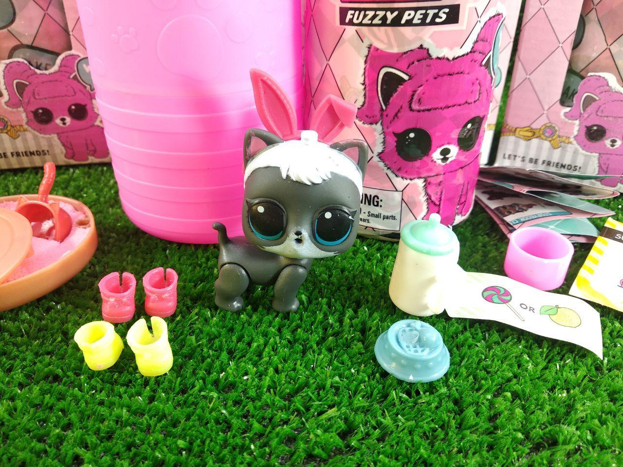 Кукла фуззи петс Fuzzy Pets Питомец с кинетическим песком внутри