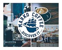 """Кава в зернах 1 кг """"CLASSIC JAZZ"""" MarkoCoffee класична суміш"""