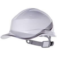 Каска защитная строительная Diamond 5 белая
