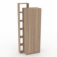 Шкаф 9 Компанит (офисный шкаф-пенал)
