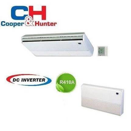 Кондиционер- Cooper&Hunter Inverter Мульти-сплит Напольно-потолочные блоки (-15°C), фото 2