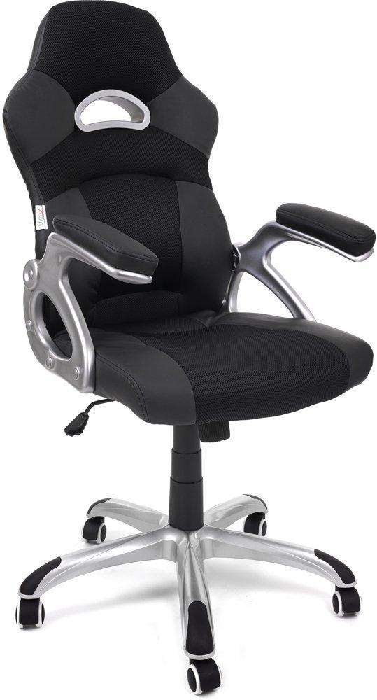 Комп'ютерне крісло офісне ZigZag 2438 Чорне