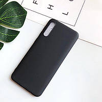 Чехол Soft Touch для Samsung Galaxy A70 2019 (A705) силикон бампер черный