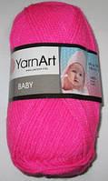 Пряжа Yarn Art Baby, малиновая