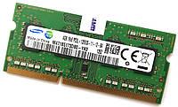 Оперативная память для ноутбука Samsung SODIMM DDR3L 4Gb 1600MHz 12800s CL11 (M471B5173DB0-YK0) Б/У, фото 1