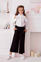 Ультрамодные брюки-кюлоты для девочки, фото 1