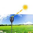 Фонарь Садовый 72 LED на Солнечной Батарее Факел с Датчиком Света, фото 2