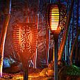 Фонарь Садовый 72 LED на Солнечной Батарее Факел с Датчиком Света, фото 8