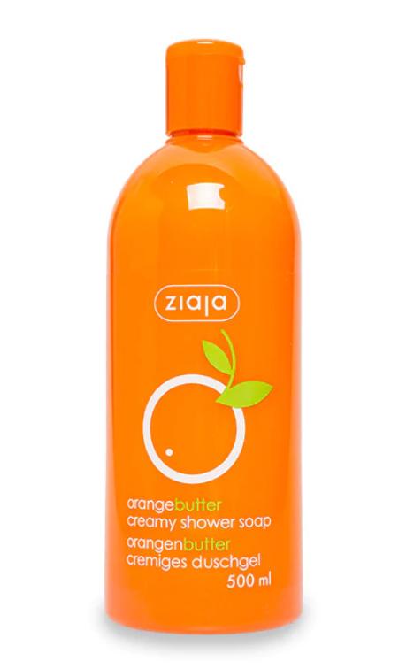 Ziaja крем-мыло для душа апельсиновое масло, 500 мл