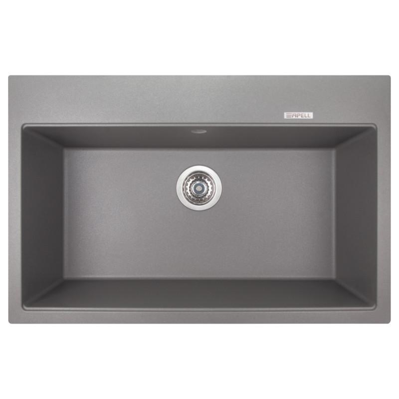 Звоните. Будет дешевле. Кухонная мойка Apell Pietra Plus светло-серая PTPL780GG