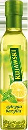 Рапсовое  масло Kujawski с лимоном и базиликом ,250 мл., фото 2