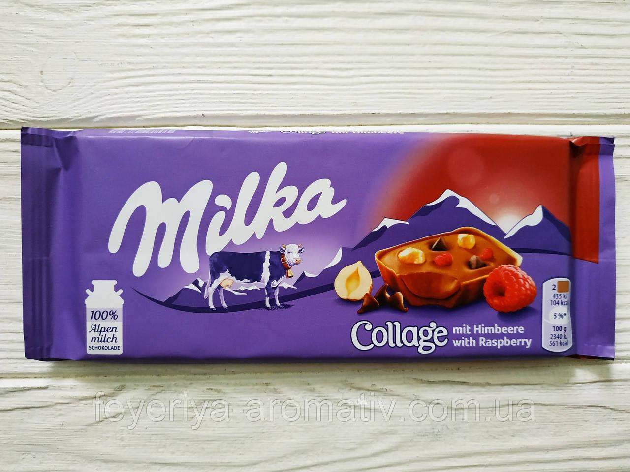 Шоколад Milka (Швейцария) Collage fruit