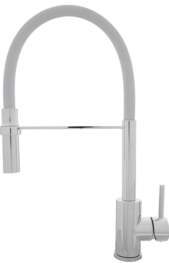 Хромовый смеситель Kernau KWT 20 PO Chrome/Grey