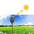 Фонарь Садовый 33 LED на Солнечной Батарее Факел с Датчиком Света, фото 2