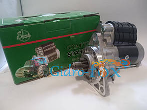Стартер редукторный (12В/2,8кВт) | Slovak (Словакия) МТЗ, Т-40, Т-16, Т-25 Кт.Н. 11010015